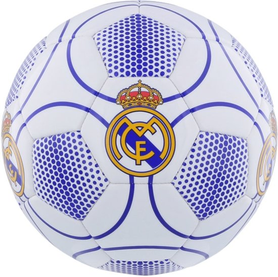 Real Madrid Bal groot wit/blauw