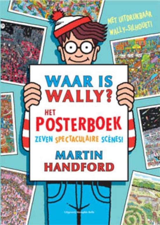 Waar is Wally het posterboek
