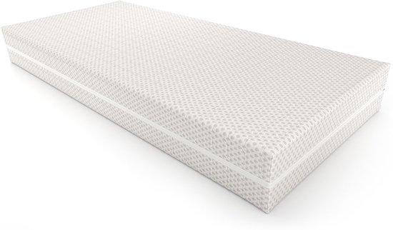 Traagschuim Matras 90 x 200 cm - Nasa Schuim Technologie - 7 zones