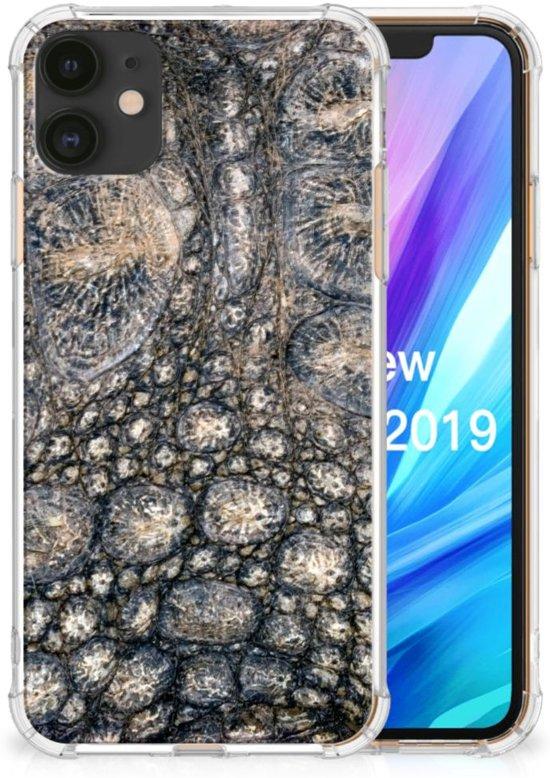 iPhone 11 Case Anti-shock Krokodillenprint