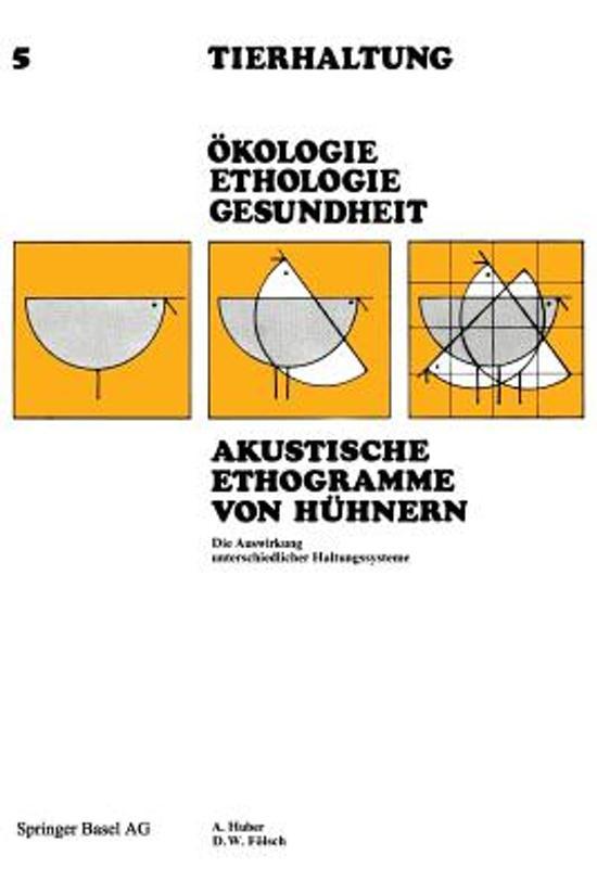 Akustische Ethogramme Von H hnern