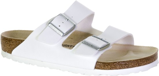 Birkenstock Arizona Heren Slippers - White