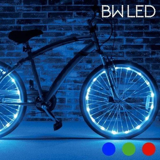 bol.com | BW Led - Lichtslang voor fiets - LED verlichting - Blauw