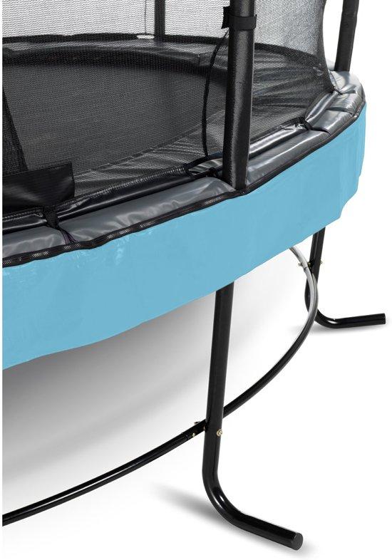 EXIT Elegant Premium trampoline ø366cm met veiligheidsnet Deluxe - blauw