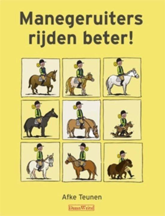 Cover van het boek 'Manegeruiters rijden beter!'