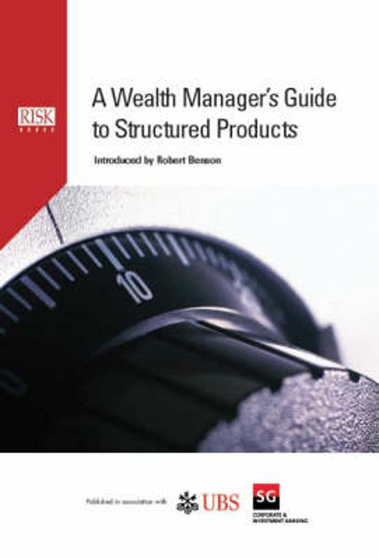 Wealth Manager's Guide To Structured Products
