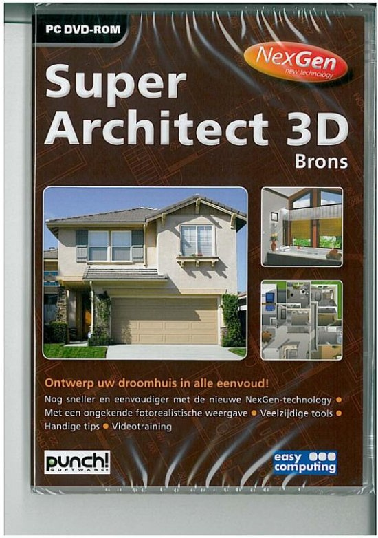 Easy Computing Super Architect 3d Brons Nexgen - Nederlands