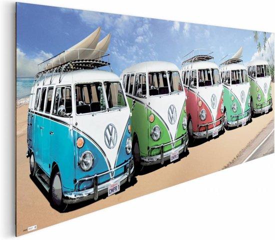 Reinders schilderij vw californian camper beach deco panel 156 x - Deco schilderij slaapkamer kind ...