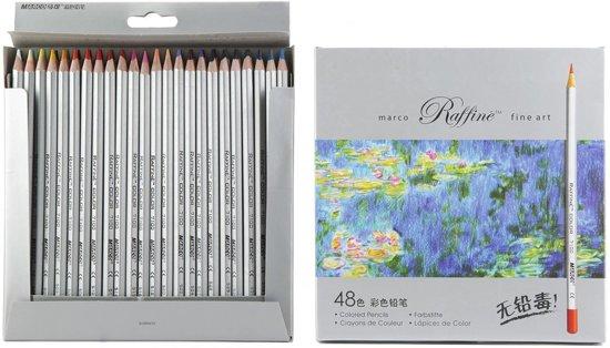 Marco Raffine Fine Art kleurpotloden - 48 stuks