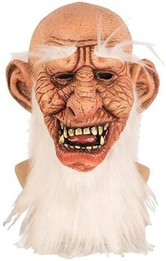 Halloween Masker.Bol Com Halloween Halloween Masker Oude Man Van Latex