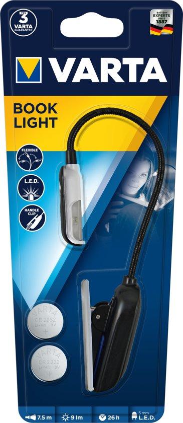 Varta LED Book Light - leeslamp - werkt op batterij