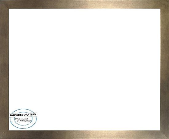 Homedecoration Misano – Fotolijst – Fotomaat – 21 x 94 cm  – Brons