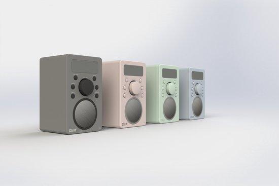 Clint F4 Portable DAB+/FM Radio met Bluetooth