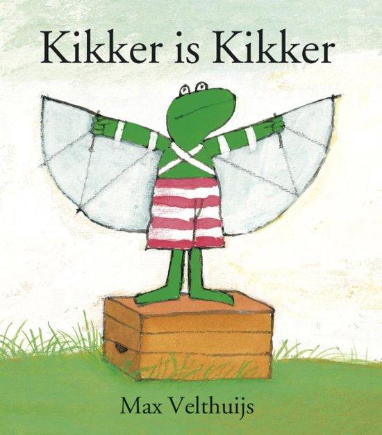 Boek cover Kikker - Kikker is Kikker (mini) van Max Velthuijs (Hardcover)