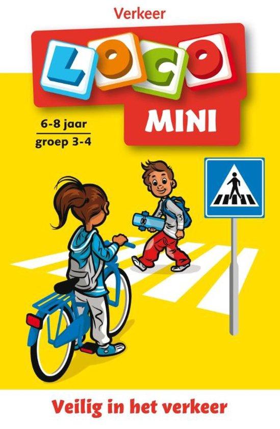 Boek cover Mini Loco Verkeer Groep 3-4 - Educatief Spel van Jacqueline de Kok-Hoeksema (Paperback)