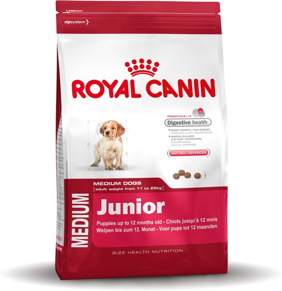 Royal Canin Medium Junior - Puppyvoer - 15 kg