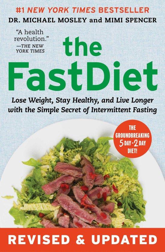 Boek cover The Fastdiet - Revised & Updated van Dr Michael Mosley (Paperback)