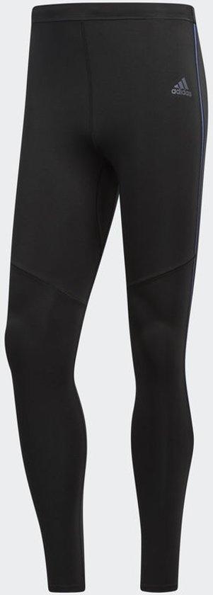 adidas Response Long Tight Tight Heren - Black/ Noble Indigo