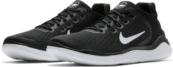 a0d73de6aa5 bol.com | Nike Free RN 2018 Sneakers Heren - Black/White - Maat 40