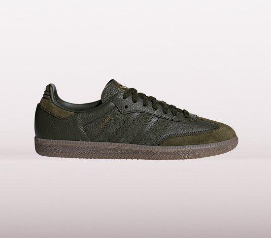 bol.com | adidas Samba OG FT Sneakers Heren - Donkergroen ...