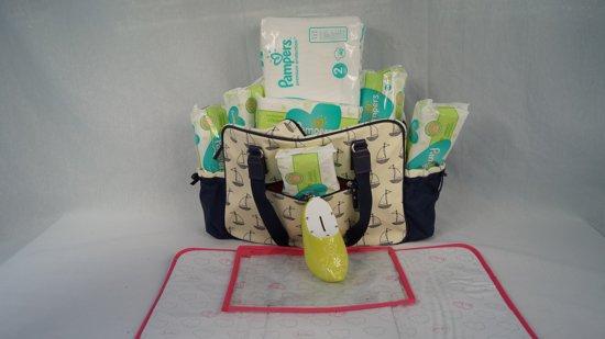 Babygeschenkset met Pampers luiers en billendoekjes