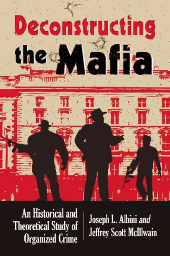 a report on organized crime and the history of mafia Hong kong to sicily, this set of grip examines five of the unions most notorious criminal worldthe world history of organized crime travels the world to.