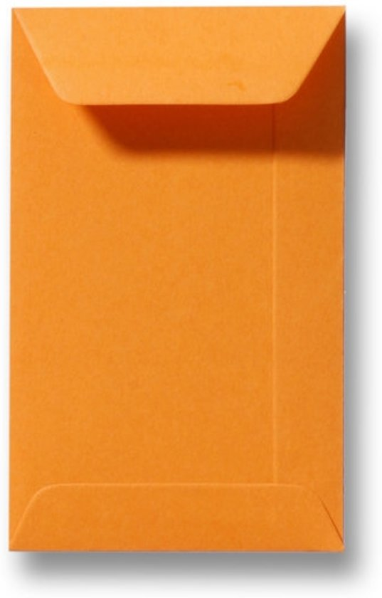 Envelop 6,5 x 10,5 cm Feloranje 100 stuks
