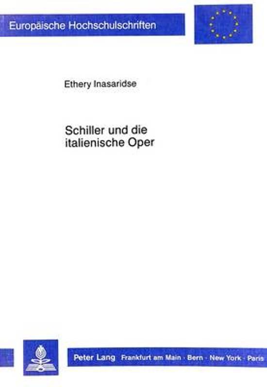 Schiller Und Die Italienische Oper