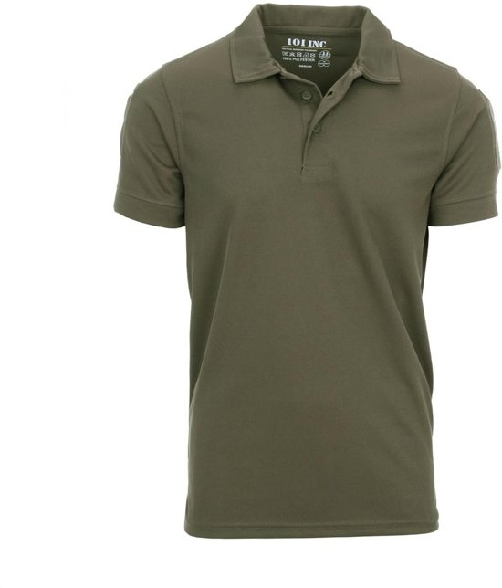 Quickdry Groen Tactical Polo Groen Quickdry Tactical Polo 101inc 101inc 101inc Polo Tactical wvYxgyq