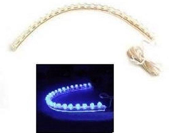 bol.com | 24-LED Strip Flexibele Grill Verlichting voor Auto \'s BLAUW