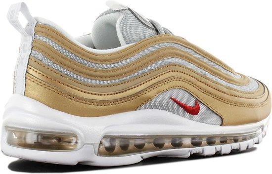 Nike Air Max 97 SSL sneaker goud zilver maat 45