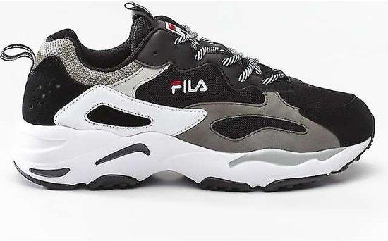 Fila Ray Tracer Heren Sneakers - Black - Maat 44