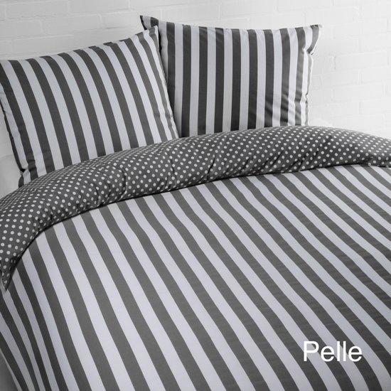 Day Dream Pelle - dekbedovertrek - lits-jumeaux - 240 x 200/220 - Grijs