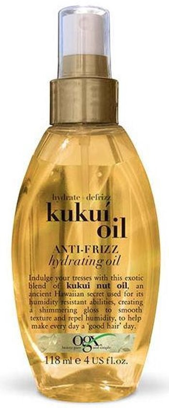 Organix oil hydr.a-frizz kukui 118 ml