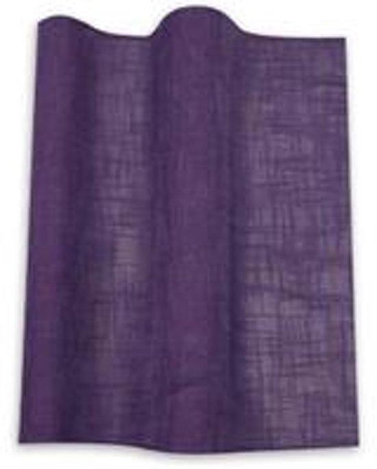 bol.com | Beau Home kant & klaar gordijn lussen paars 140 x 280cm