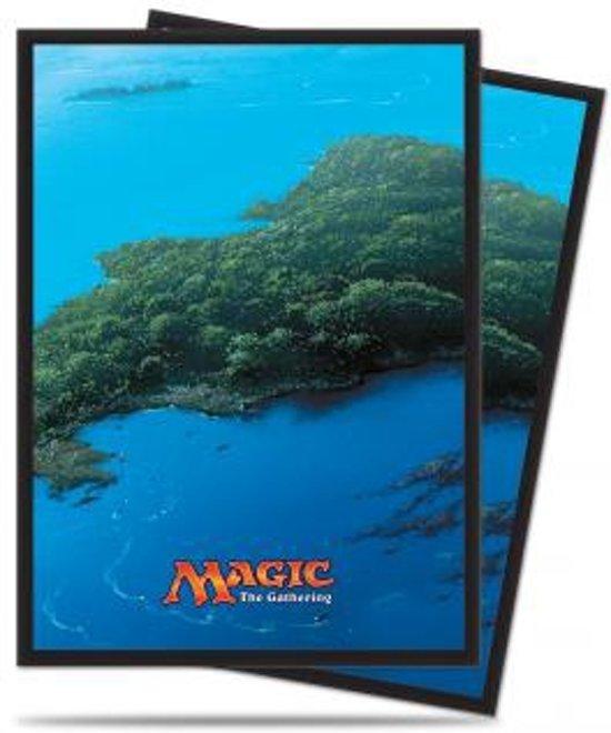 Afbeelding van het spel Standard Sleeves MTG: Mana 5 Island 80