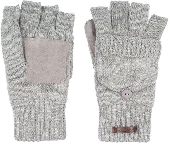 Starling Vingerloze Handschoenen Gebreid Unisex Noël Grijs Mt S