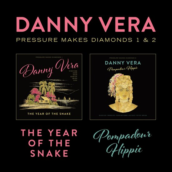 CD cover van Pressure Makes Diamonds 1 & 2 van Danny Vera