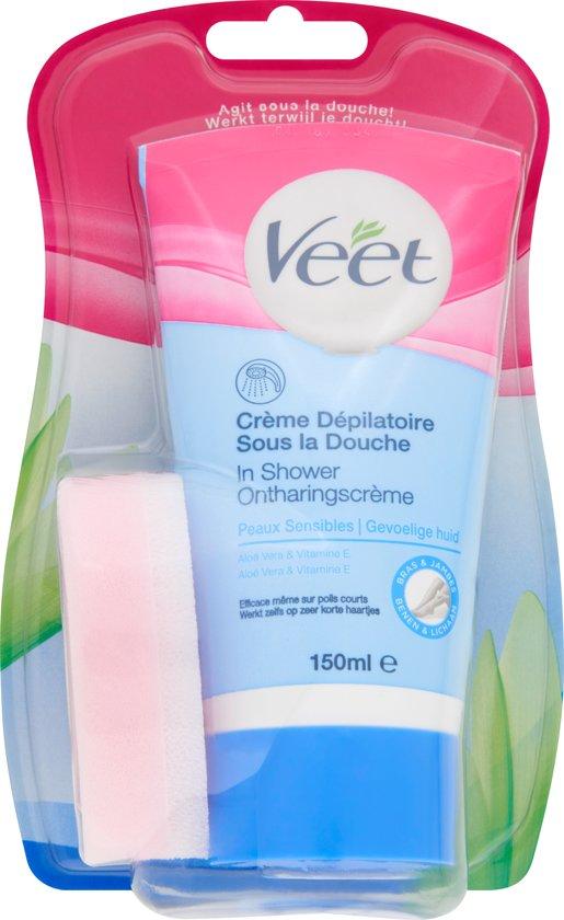 Veet In-Shower Ontharingscrème Gevoelige Huid - 150ml