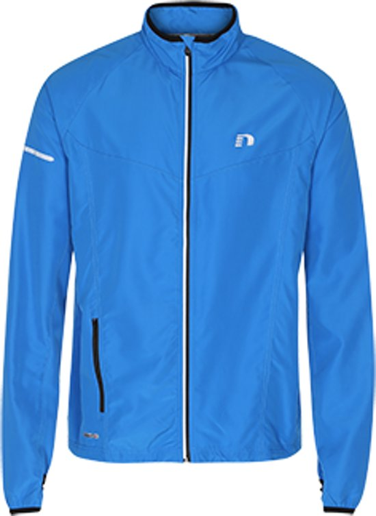Newline Base Race Jacket 14215-165 - Hardloopjas - Heren - Blue - Maat XL