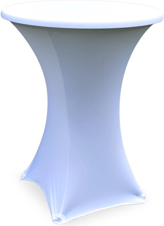 Partytent elastieken lang - 25 stuks - Wit