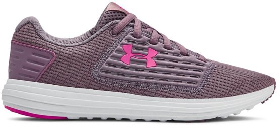 Under Armour W Surge SE Sportschoenen Dames - Purple Prime - Maat 37.5