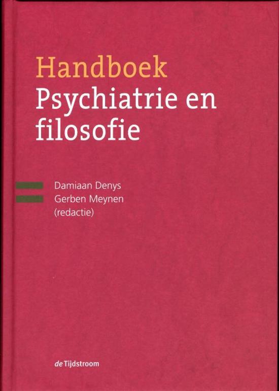 wat is psychiatrie denys damiaan