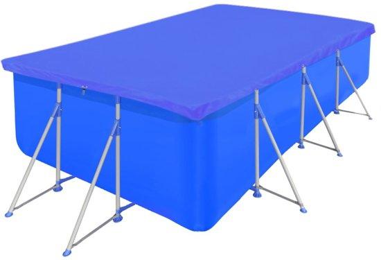 Zwembadhoes PE Rechthoek 400 x 207 cm (Blauw)