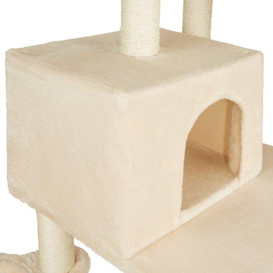 TecTake - Krabpaal Lilou beige 165 cm - 402932