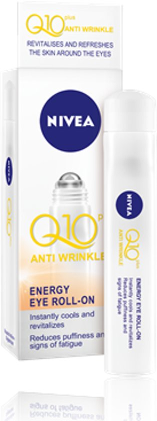 NIVEA Q10 Plus - 10 ml -Oogroller