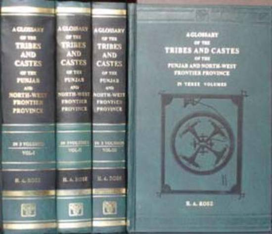 Glossary of the Tribes and Castes of the Punjab and North West Frontier Province