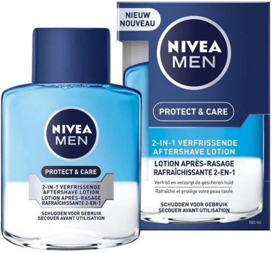 NIVEA MEN Protect & Care Aftershave Lotion 2-in-1