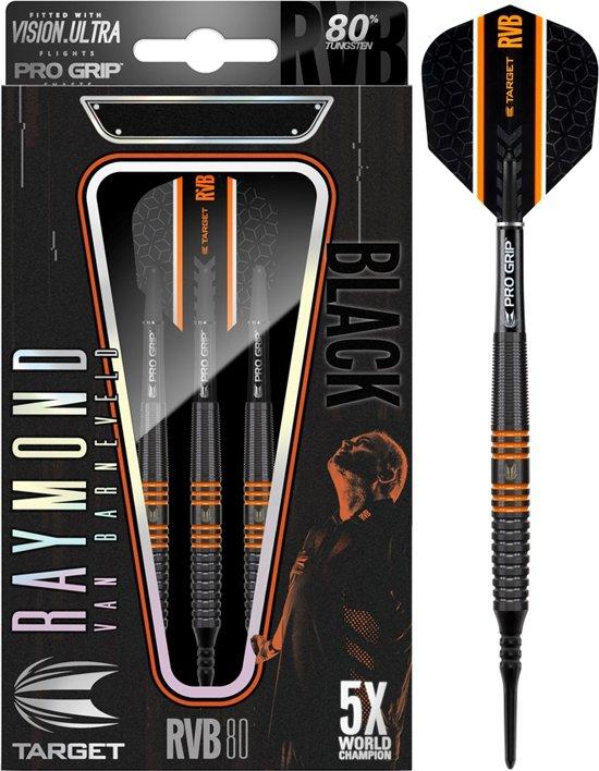 Target Softtip Raymond van Barneveld RVB 80 Black 80% 18 gram Darts
