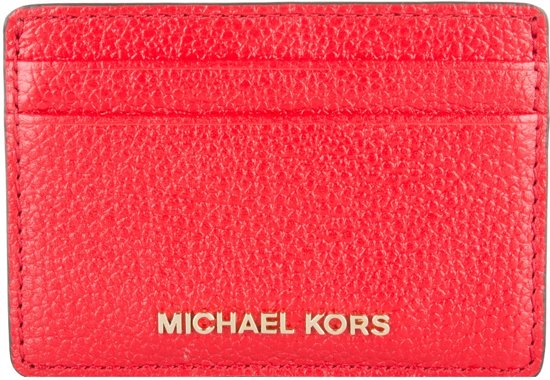 a3db2afe038 bol.com | Michael Kors Portemonnees Mercer Card Holder Rood
